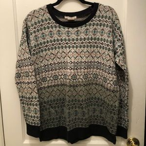 Urban Outfitters Fair Isle Oversized Sweater
